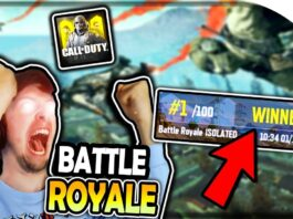 BATTLE ROYALE in CALL OF DUTY MOBILE! (First Battle Royale Game in New CoD Mobile)