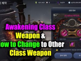 Black Desert Mobile Awakening Weapon & How to Change Class Weapon