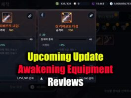 Black Desert Mobile Upcoming Update & Awakening Equipment Reviews