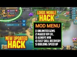 Lords Mobile MOD APK Download Unlimited Gems MOD Menu Mx VIP Latest Version Android IOS No Root 2019