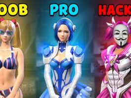 NOOB vs PRO vs HACKER - Garena Free Fire