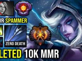 ABSOLUTE CANCER Drow Ranger 2 Marksman Proc Deleted Against 10K MMR Windranger Spammer IMBA DotA 2