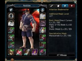 Changing To Blademaster Main Set Up Skill, Talent & etc | Atlantica Online Valofe..|