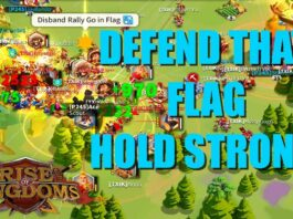 Defend that FLAG and Hold strong! - Amazing moments in Lost Kingdoms - Rise of Kingdoms