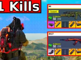 GOLD AK117 and GOLD M4!   CALL OF DUTY MOBILE   SOLO VS SQUADS