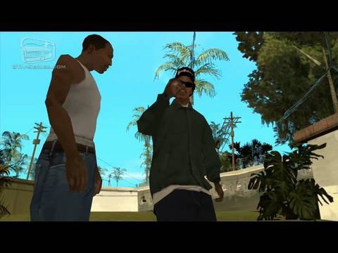 GTA San Andreas - Walkthrough - Mission #10 - Home Invasion (HD)