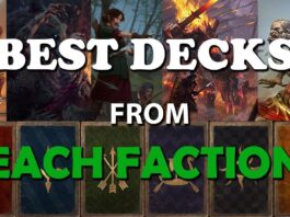 Gwent: Best Decks for Ranked - from All Factions