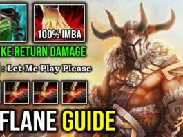 INSANELY RAID BOSS 7.27 Offlane Centaur Warrunner Crazy Godlike with IMBA Return Damage DotA 2