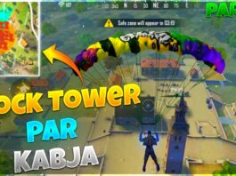 KING OF CLOCK TOWER || CLOCK TOWER PAR KABJA || FREE FIRE - DESI GAMERS
