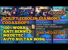 SCRIPT DIAMOND MOBILE LEGEND VIP | UPDATE TERBARU SCRIPT DIAMOND MOBILE LEGEND PATCH YU ZHONG