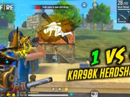 Solo vs Squad Kar98k with Biometric Awesome Gameplay - Garena Free Fire