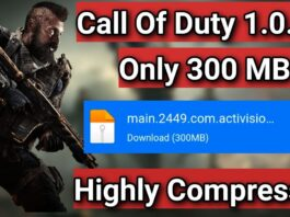 [300 MB] How To Download Call Of Duty Latest Version 1.0.20 In Highly Compressed | Season 2 COD