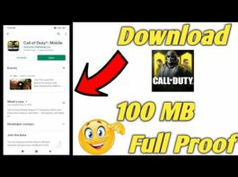 (100MB) Call Of Duty highly compressed || Highly Compressed Call Of Duty latest version in android