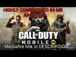 CALL OF DUTY MOBILE highly compressed 84 MB |How to download call of duty highly compressed 84MB