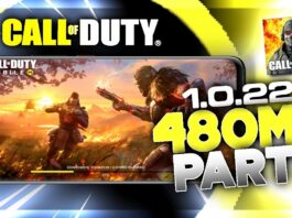 Download Call Of Duty Mobile 1.0.22 Update Highly Compressed | Android 2021