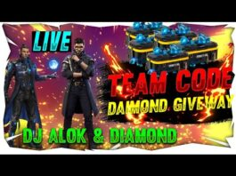 50000 Diamond Giveaway Team Code Giveaway Free Fire
